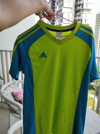 🚚 Adidas Jersey Shirt (Blue/Green)