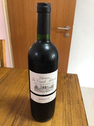 Red Wine VIN DE BORDEAUX 2015
