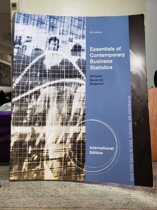 🚚 Essentials of Contemporary Business Statistics (5th Edition)