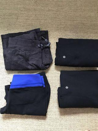 Lululemon clear out - pants size 4-6
