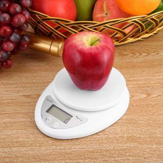 Kitchen Weighing Scale Digital 5kg/1g LCD Display (Batteries Included) [NEW]