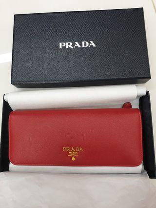 BNIB Authentic Prada Long Wallet