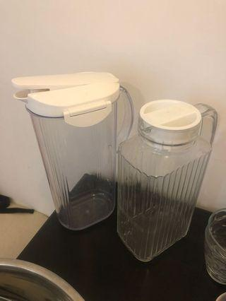 Water jugs - great condition (available separately too)
