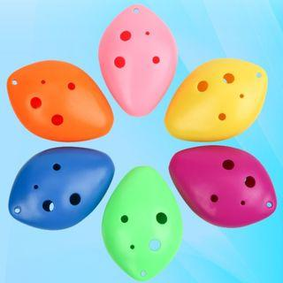 (Ready Stock)SN066 - 6 Holes Ocarina Flute for Kids - Musical Instrument Educational Toy
