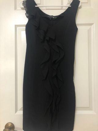 Aritzia Central Park West Black Dress size xs