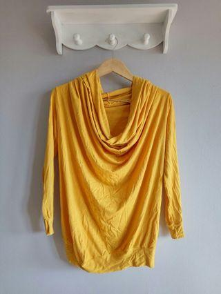 Yellow Loose Top