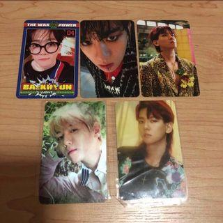 🚚 EXO Baekhyun Official Photocards