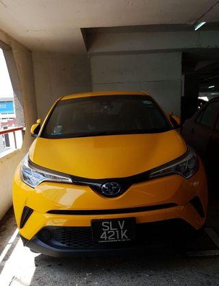 🚚 TOYOTA CHR FOR RENT