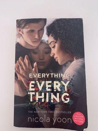 Everything, Everything book by Nicola Yoon