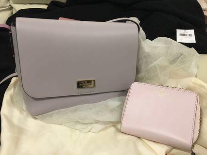 Kate Spade handbag light purple