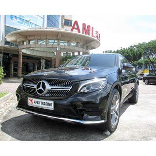Brand New Mercedes Benz GLC250 Coupe AMG - for long term leasing -