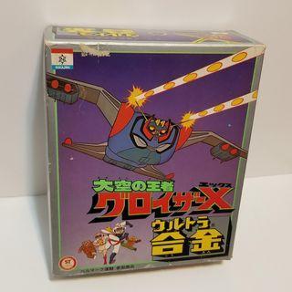 Nakajima 無敵鐵羅剎 超合金 Groizer X popy bullmark medicom evolution toys