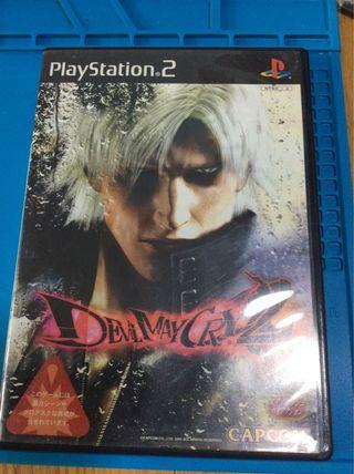 Ps2 正版game devil may cary2