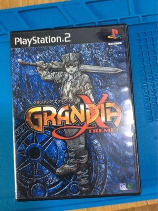 Ps2 正版game. Grandia x