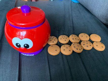 🚚 Count and learn cookies jar