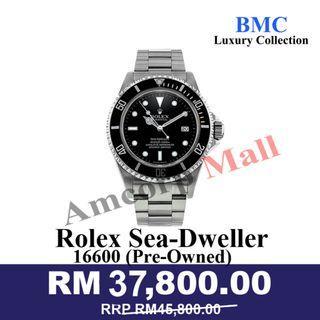 ROLEX SEADWELLER 16600 STAINLESS ROLEX