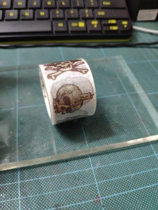 Washi tape - vintage skull