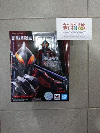 行 SHF 貝利亞 超人 邪惡超人 黑超人 ZERO Ultra Act UA Ultraman Belial