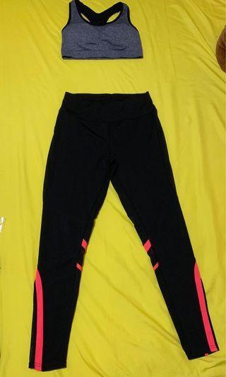 🚚 Sports bar & pants set