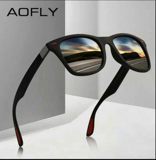 🚚 AOFLY BRAND DESIGN Classic Polarized Sunglasses Men Women Driving Square Frame Sun Glasses