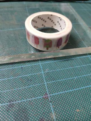 Washi tape - popsicles