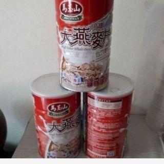 3罐270馬玉山大燕麥片高纖800g  2021.2.19