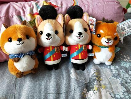Raburi soft toys