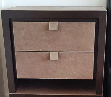 A set of 2 Side Drawer