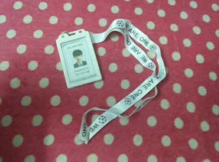 EXO CHANYEOL CARD HOLDER