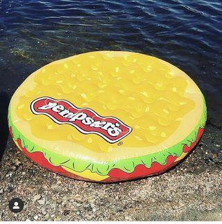 Dempsters Hamburger pool floatie BNIP