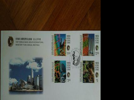 世界銀行1997年年會首日封