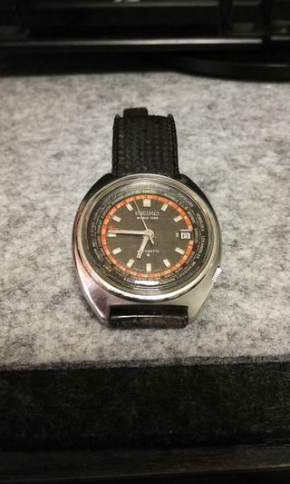 Seiko World Timer 6117-6400