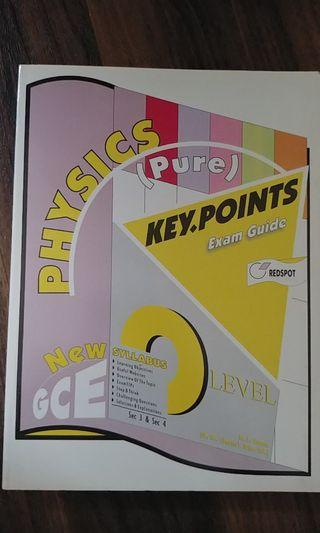 Physics Key Points Exam Guide