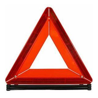 *Car Emergency Breakdown Warning Triangle Red Reflective Safety Hazard Travel Kit*