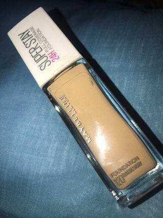 Maybelline SUPER STAY Foundation shade 120 Classic Ivory