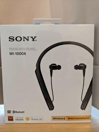 B/N Sony WI-1000X Wireless Noise Canceling Stereo Headset #EndgameYourExcess
