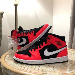 Air jordan 1 Mid infrared 23 ORIGINAL BNIB size 44 UK 9