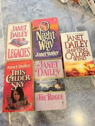 Romance Novels - Janet Dailey Collection