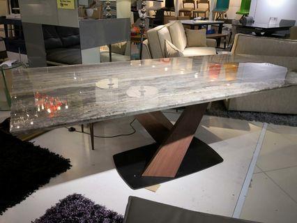 Italian marble dining table