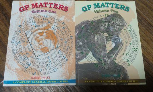 GP Matters Volume One and Two (1st Edition)