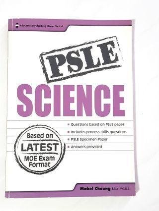 Old edition PSLE Science Revision Paper with answers