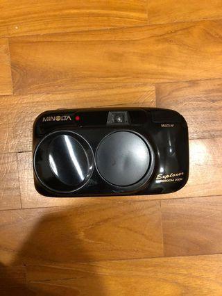 Minolta Freedom Zoom / Riva Zoom 70w 35mm film camera