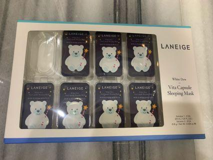 Laneige White Dew - Vita Capsule Sleeping Mask