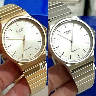 🚚 Casio original ladies men unisex analog stainless steel watch mq24d mq24g brand new
