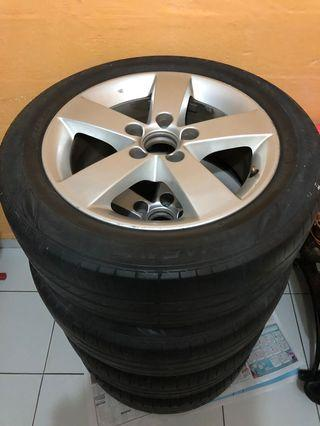 Honda Civic 5x114.3 rims