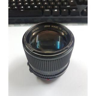 Canon FD 85mm f1.8