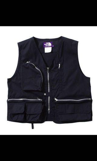徵the north face purple label angler vest