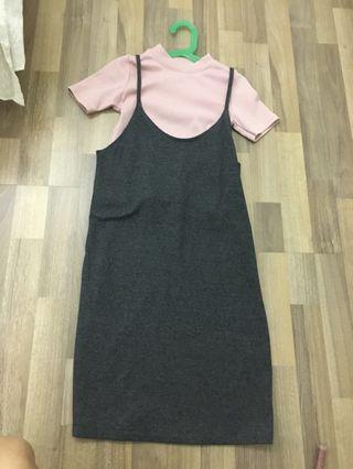 Two Piece Dress Top