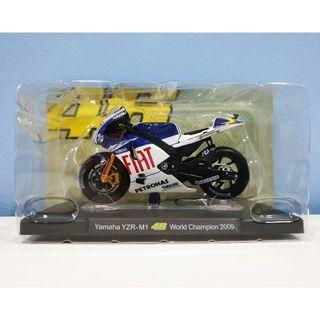 Leo 1:18 2009 Yamaha World Championship Rossi #46 MotoGP Diecast Motor Model