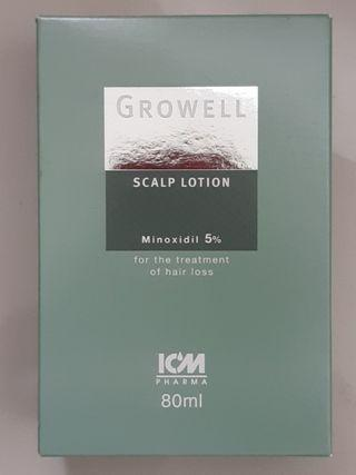 🚚 BNIB Growell 5% Scalp Lotion (80ml pack)